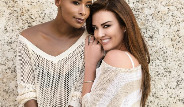 Cindy Nel and Bonnie Mbuli Cover Photo Session of The Bay Magazine
